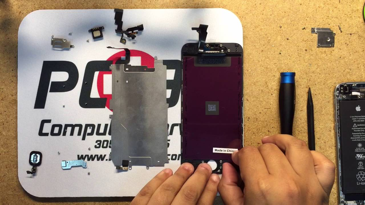 iPhone 6 screen repair tutorial